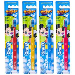 ORAL-B Mickey for kids 20 мягкая
