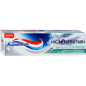 Зубная паста Aquafresh High Definition White