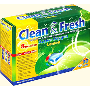 Clean & Fresh All in 1 с ароматом лимона